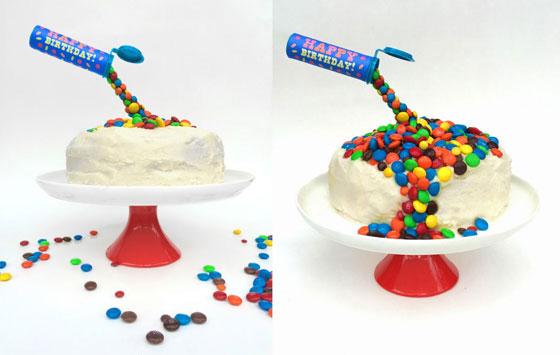Anti gravity cake ideas: Kids birthday cakes and birthday cake ideas!