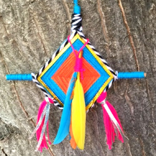 Ojo de Dios DIY ideas tutoria: How to make...l