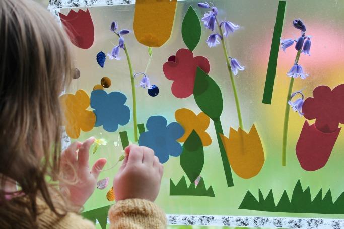 sticky-flower-garden-activity