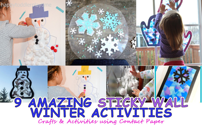 contact paper activities for toddlers