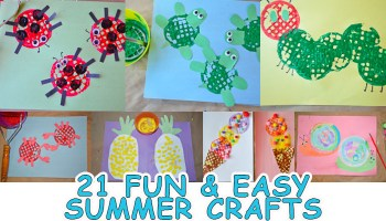 Potato Masher Ice Cream Craft Happy Toddler Playtime