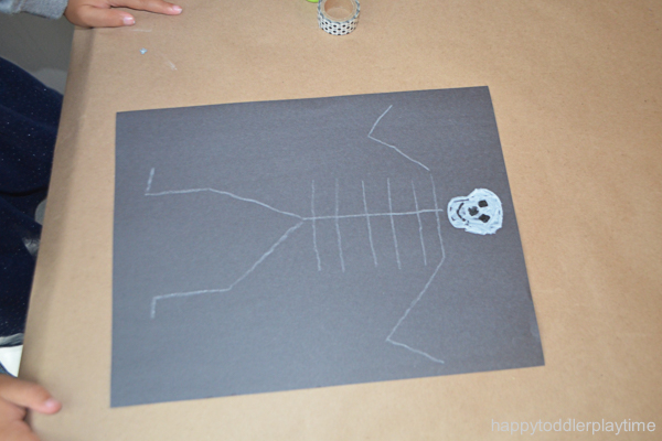 WASHI TAPE SKELETON 1