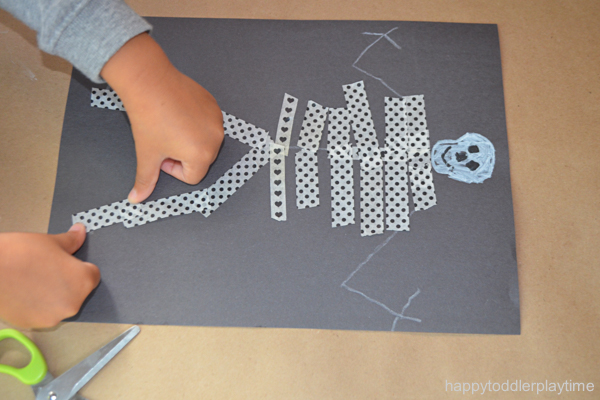 WASHI TAPE SKELETON 11