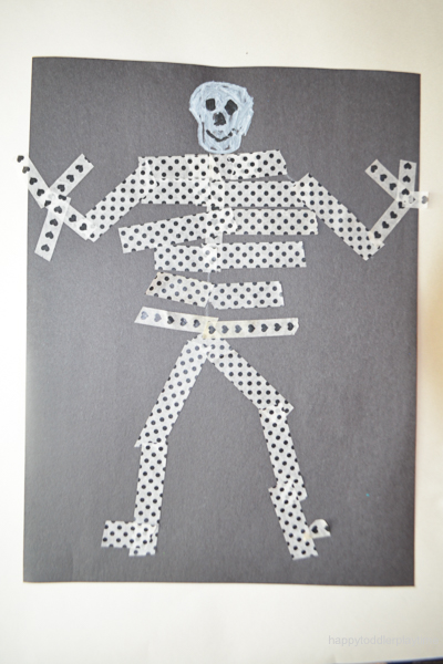 WASHI TAPE SKELETON 15