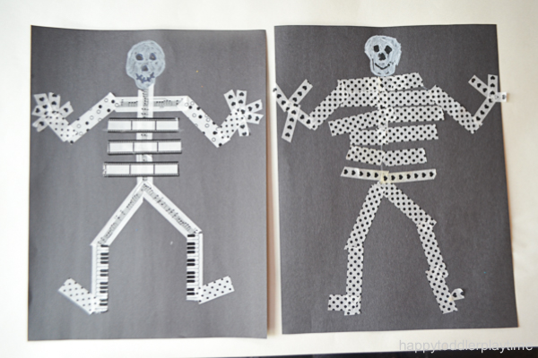 WASHI TAPE SKELETON 16