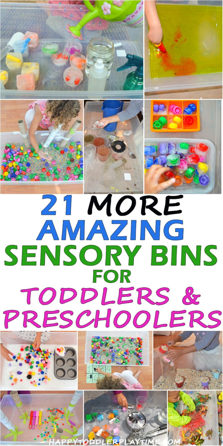 BEST SENSORY BINS pin