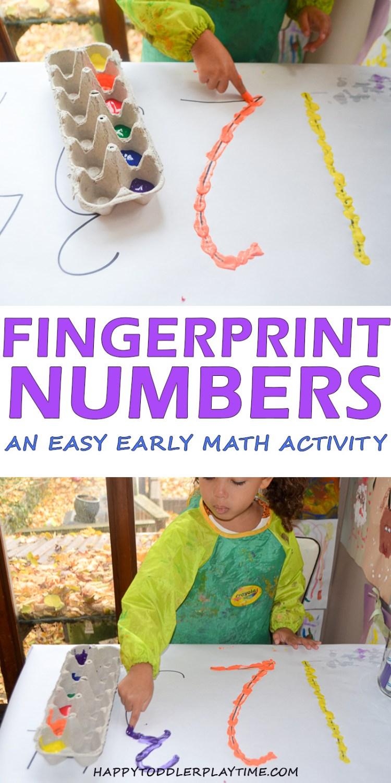 FINGERPRINT NUMBERS pin