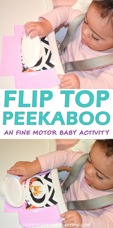 FLIP TOP PEEKABO pin