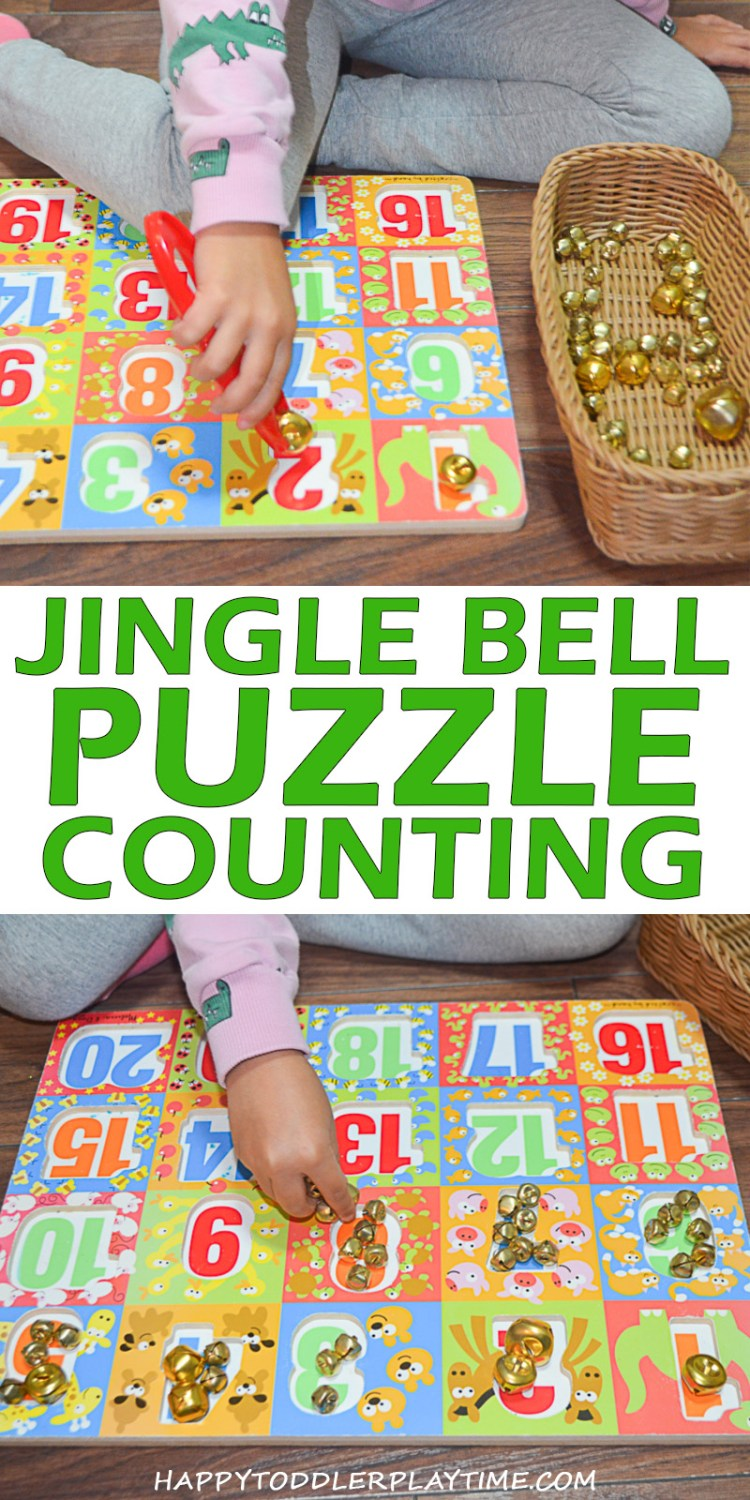 JINGLE BELL PUZZLE COUNTING pin