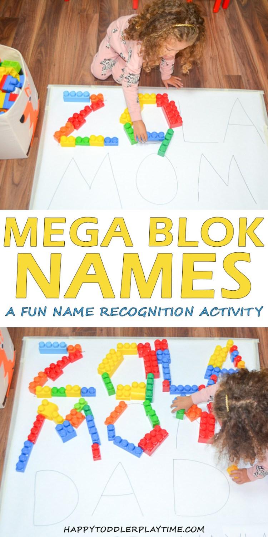MEGABLOK NAMES pin