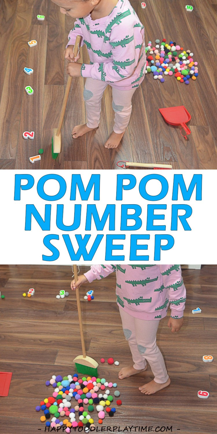 POM POM NUMBER SWEEP pin