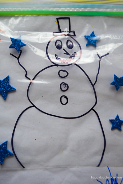 SNOWMAN MESS FREE PAINTING 0