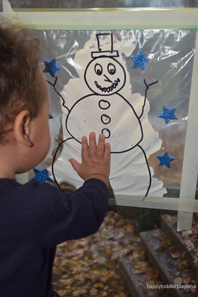 SNOWMAN MESS FREE PAINTING18