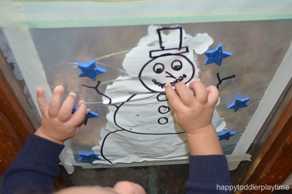 SNOWMAN MESS FREE PAINTING19