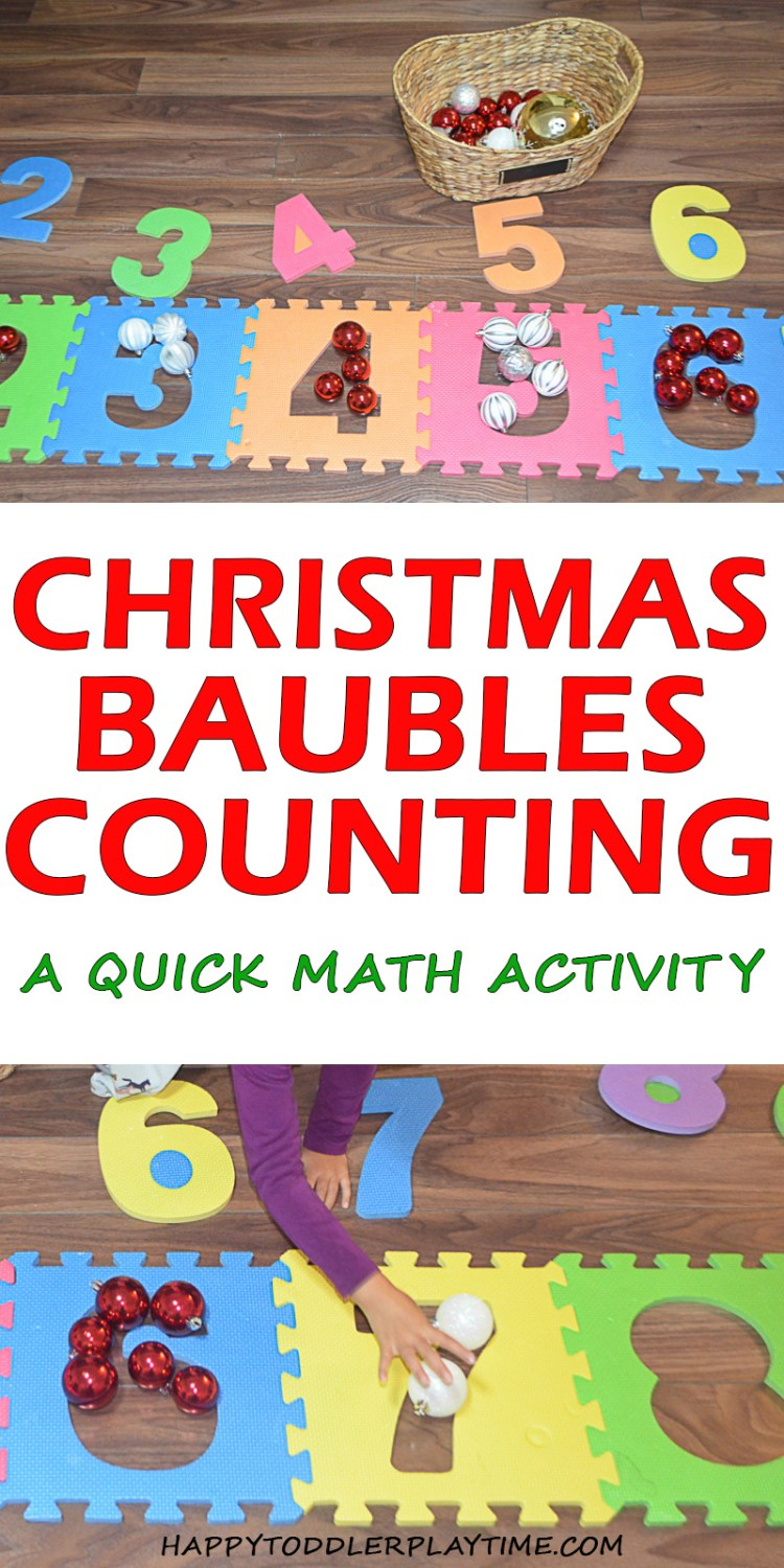BAUBLES COUNTING pin