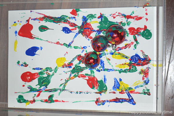 CHRISTMAS BAUBLE PAINTING 5