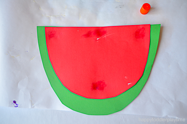 WATERMELON POM POM CRAFT 1
