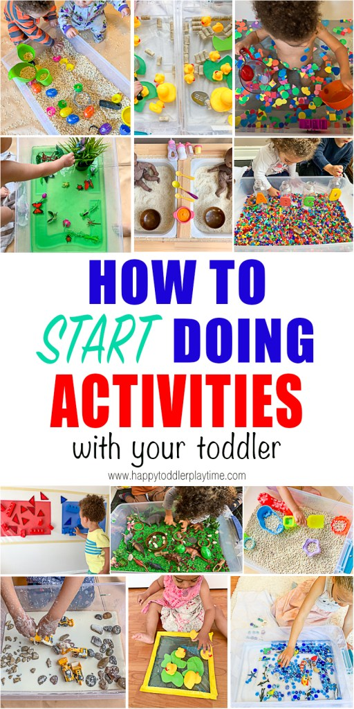 how to start doing activities with your kids