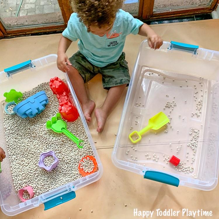 fun sensory play for toddler