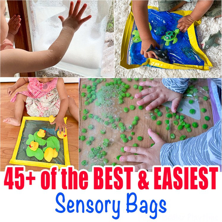 sensory bags for babies and toddlers