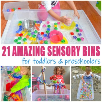 Toddler sensory bin activities