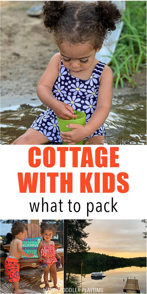 what to pack for the cottage