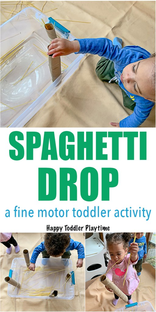 Activity for toddler to develop fine motor skills