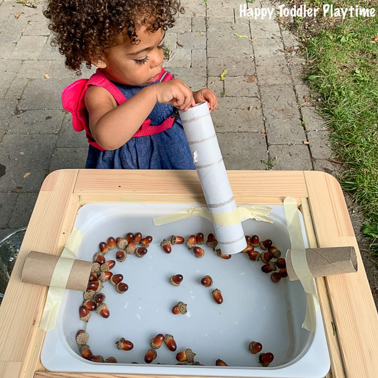 Acorn slides fine motor fall activity