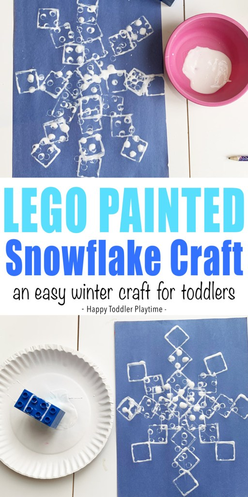 winter art for toddlers and preschoolers