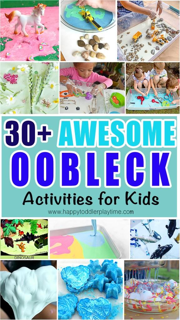 oobleck activities