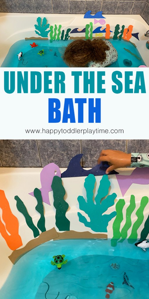 under the sea bath activity for preschoolers