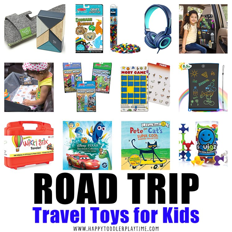 Road Trip Toys For Kids Happy Toddler Playtime