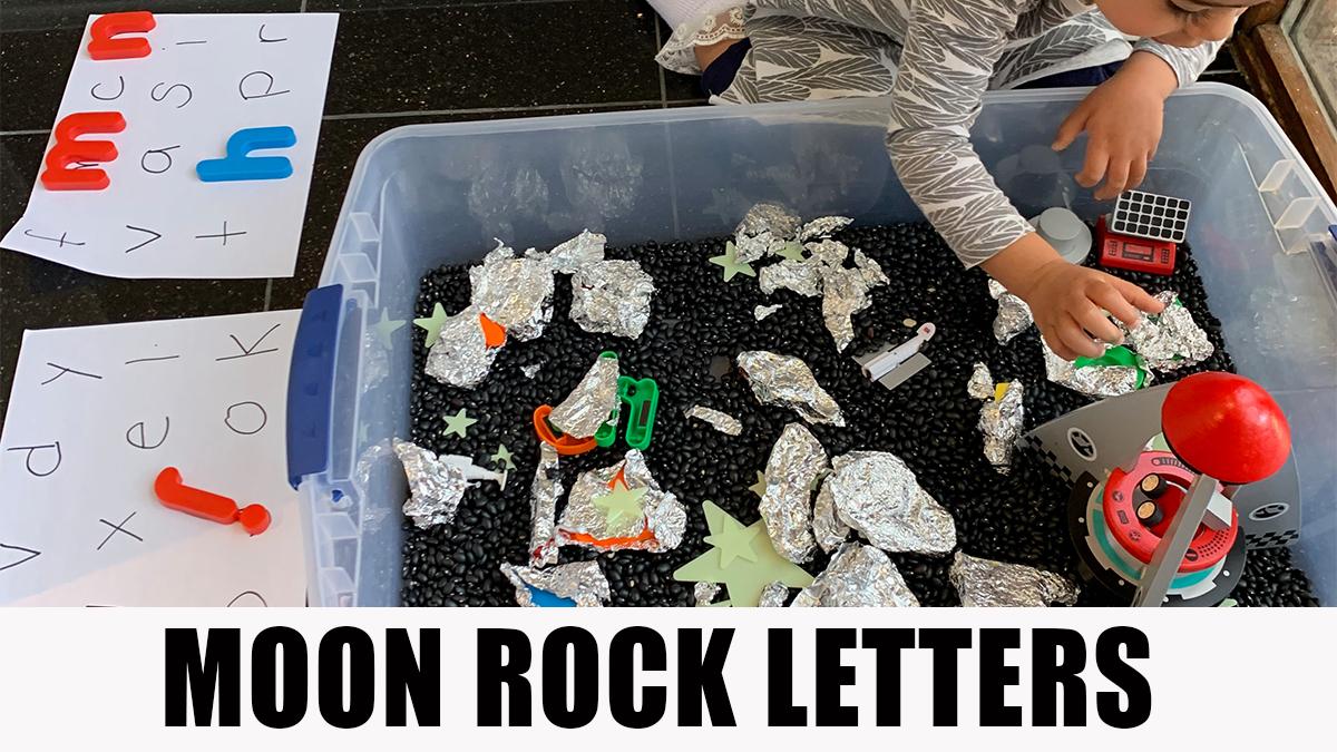 Moon Rock Letters - Mimicnews