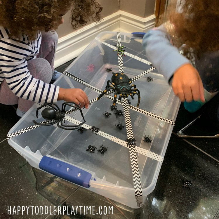 halloween steam activity for toddlers and preschoolers
