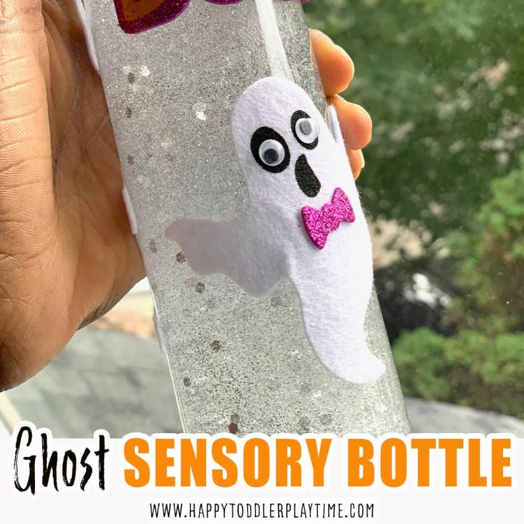 ghost sensory bottle halloween activity