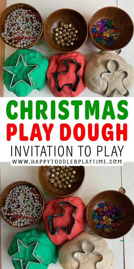 Christmas Play Dough Invitation To Play