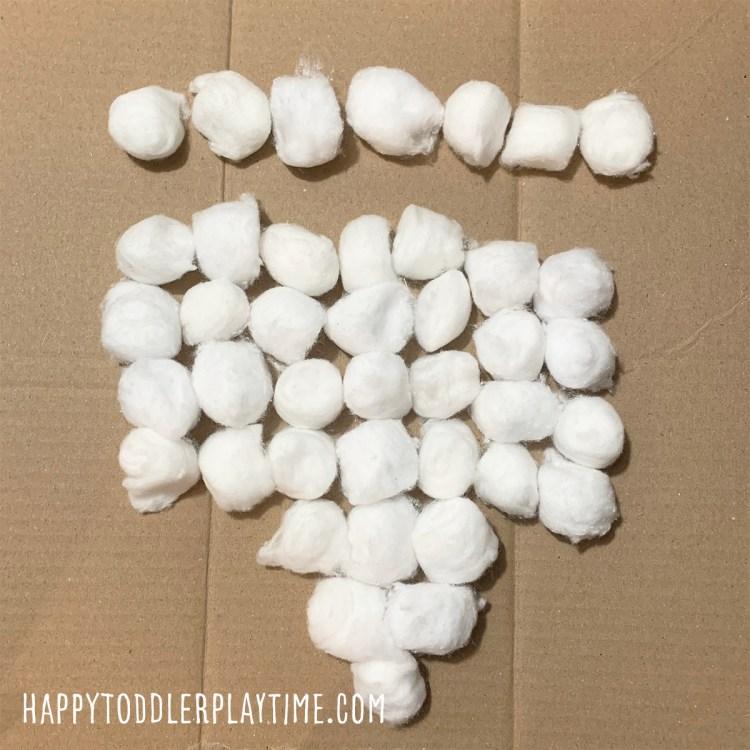 Cotton Ball Kinara