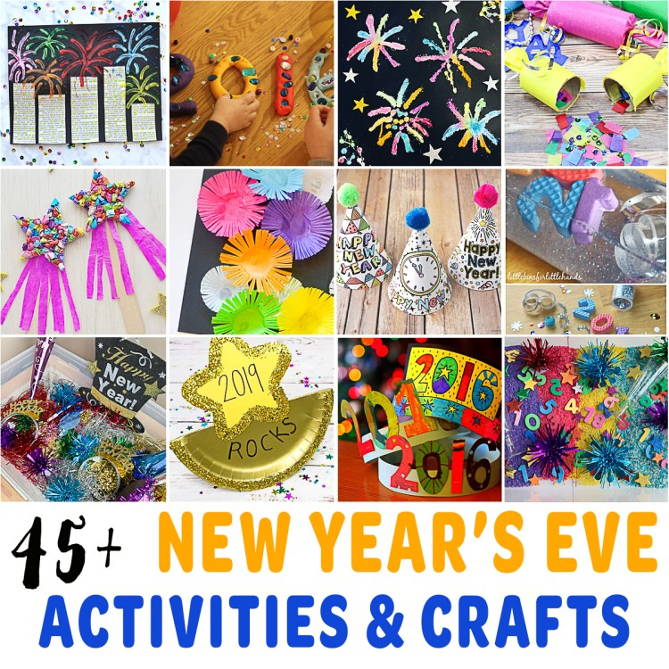 45+ Best New Year's Eve Activities for Toddlers & Preschoolers