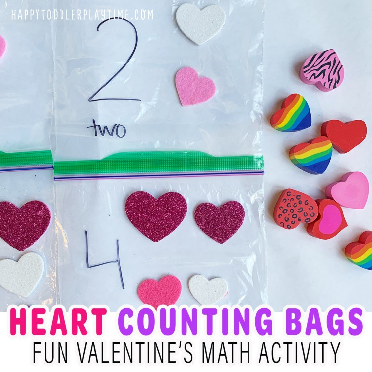 Heart Counting Bags