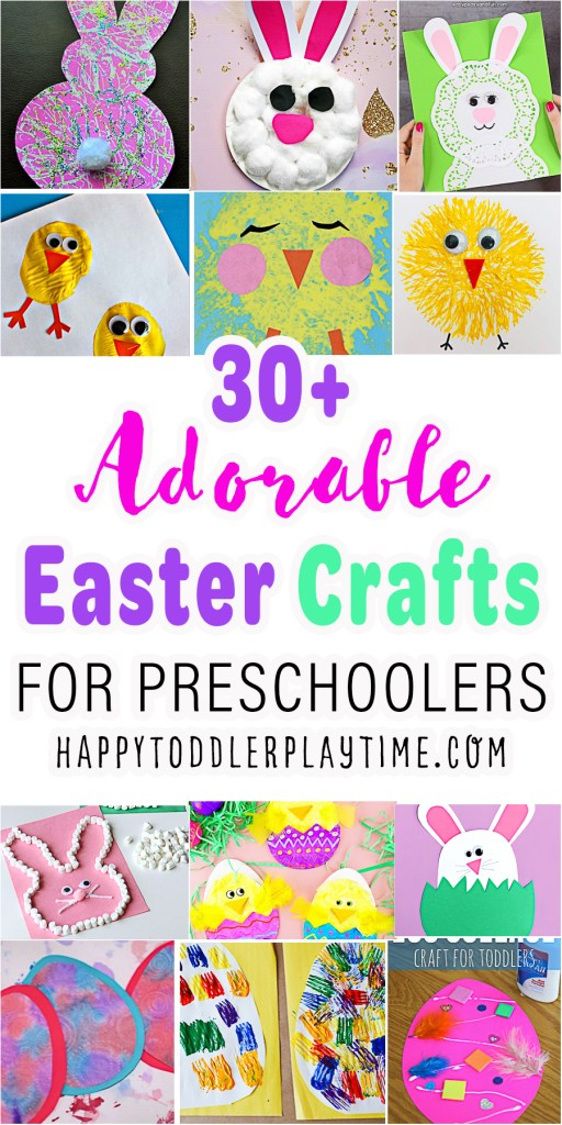 30+ Easy & Adorable Easter Crafts for Toddlers