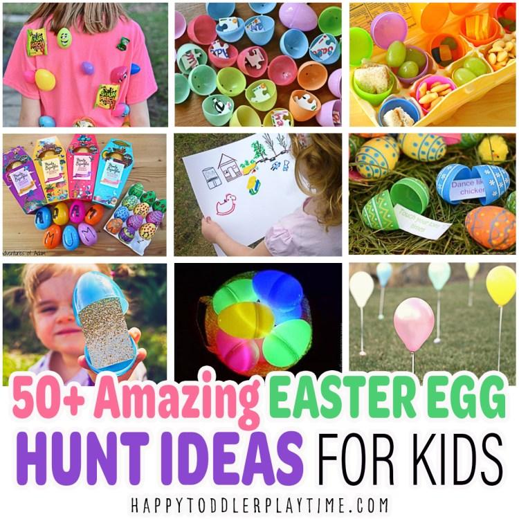 50+ Amazing Easter Egg Hunt Ideas for Kids