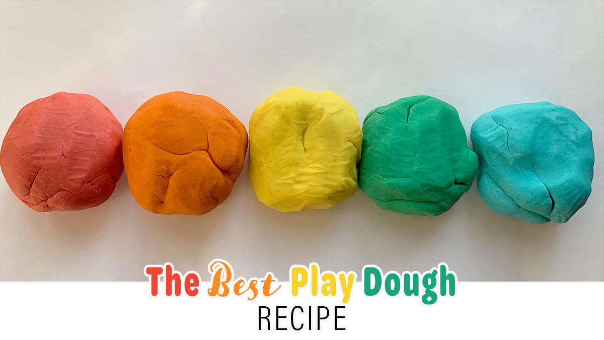 The BEST (Super Easy & Soft) Play Dough Recipe