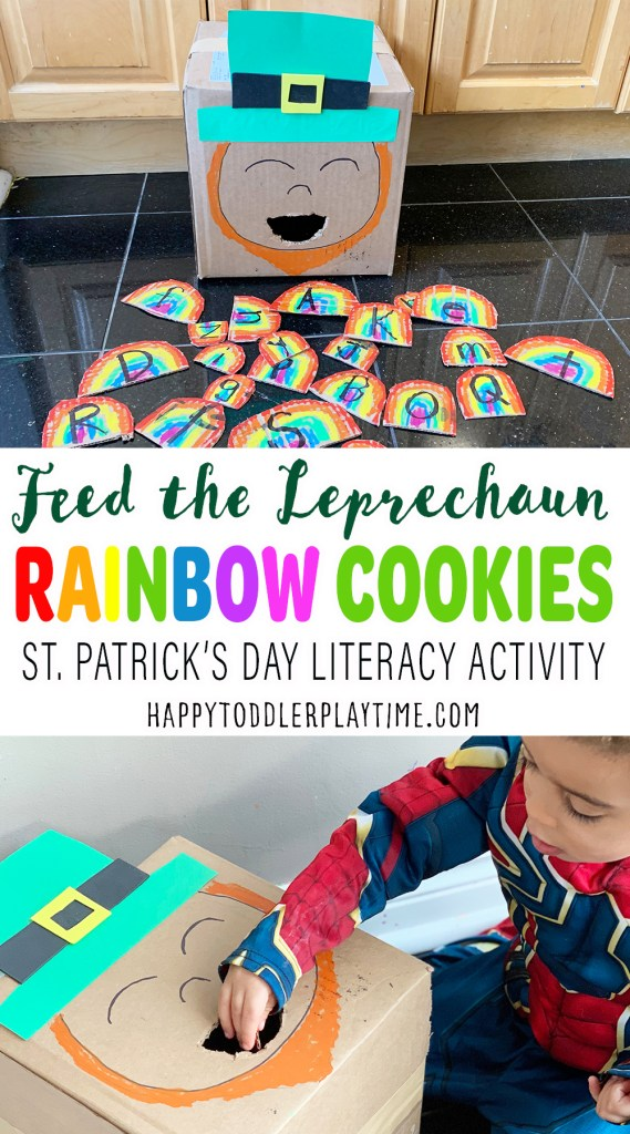 Feed Leprechaun Rainbow Cookies Game