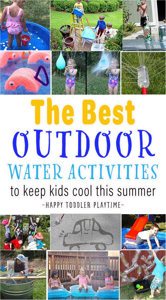 The Best Outdoor Water Activities to Keep Kids Cool This Summer