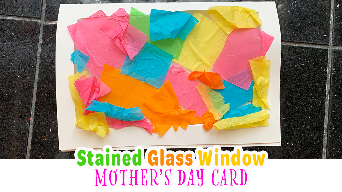 Tissue Paper Mother's Day Card