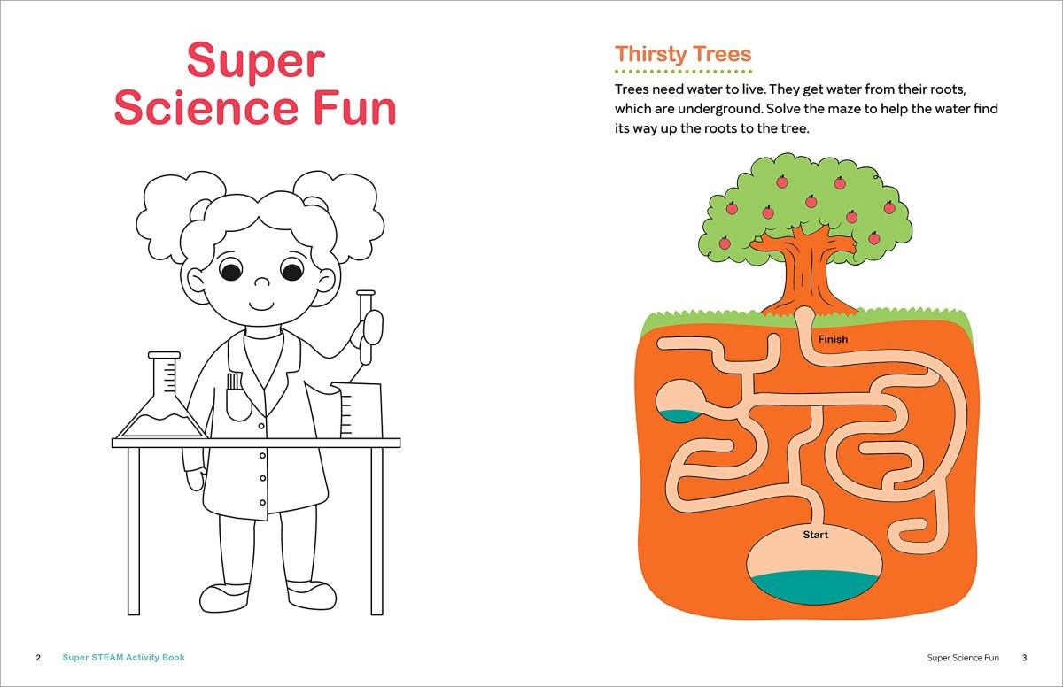 Super STEAM Activity Book