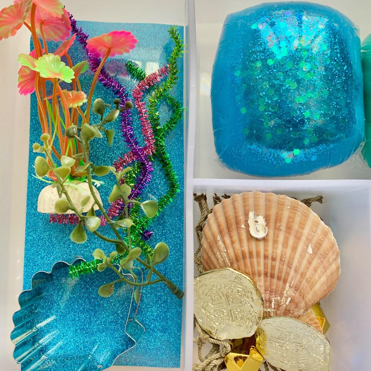 Sea World Playdough Kit