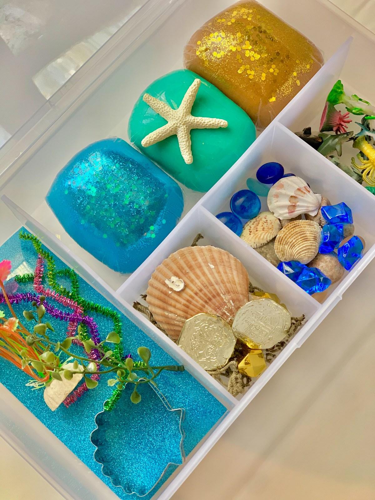 under the sea playdough kit