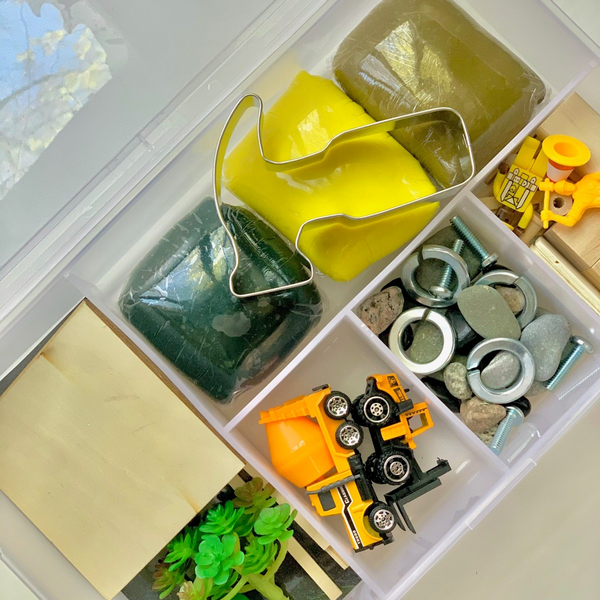 Construction Playdough Kit