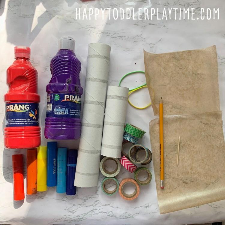 DIY Cardboard Tube Kazoo Craft for Kids